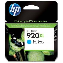Tinta HP 920XL Cian CD972AE