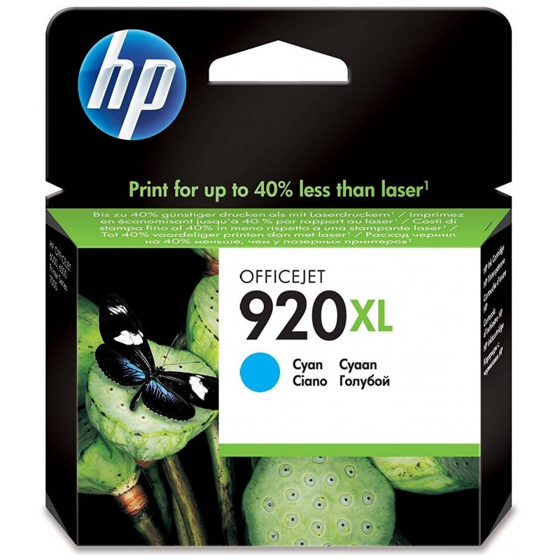 HP 920XL Cyan Ink CD972AE