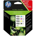 Tinta HP 920XL Pack de los 4 Colores C2N92AE