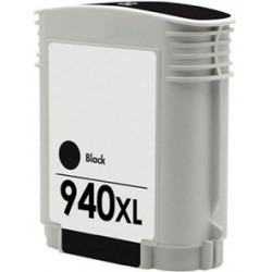 Compatible HP 940XL Black Ink C4906AE