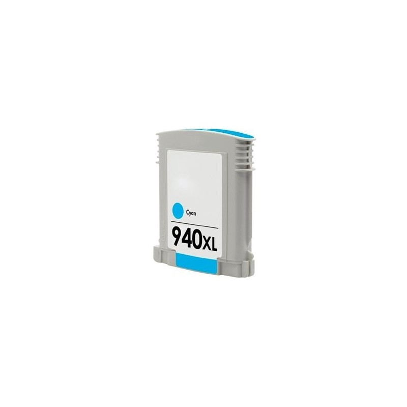 Compatible HP 940XL Cyan Ink C4907AE