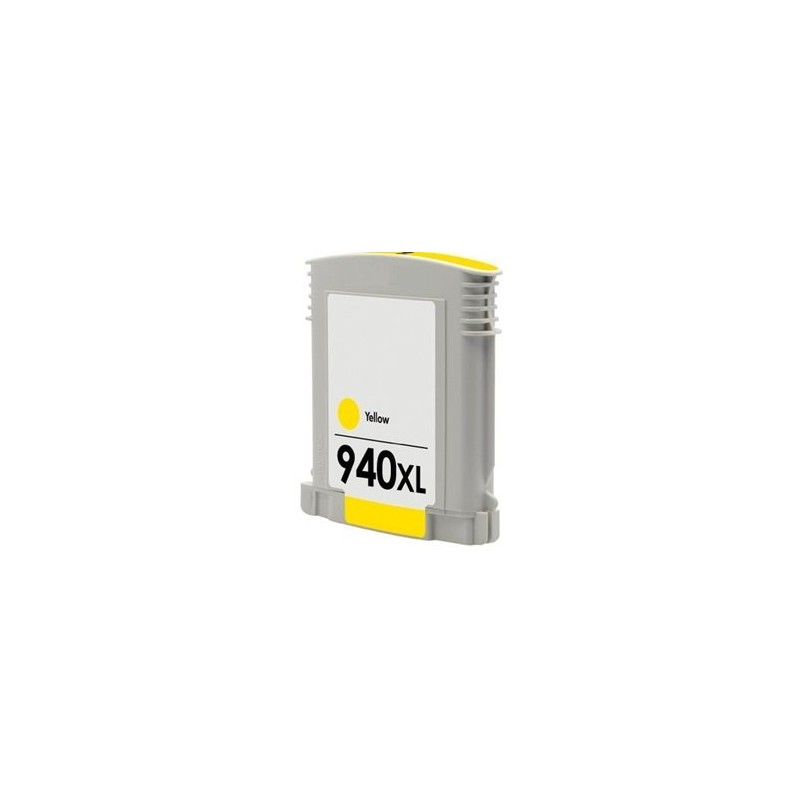 Tinta Compatible HP 940XL Amarillo C4909AE
