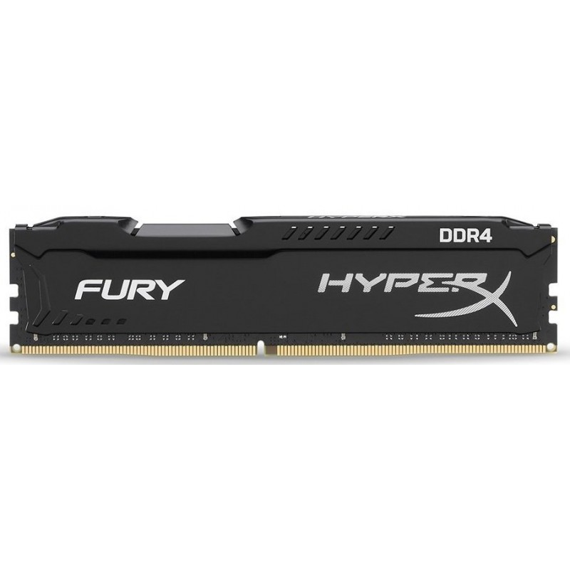 Memoria DDR4 2400 16GB Kingston HyperX Fury Black