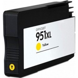 Compatible HP 951XL Yellow Ink CN048AE