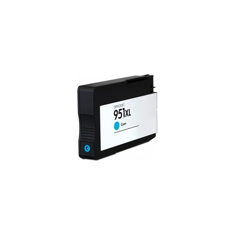 Compatible HP 951XL Cyan Ink CN046AE