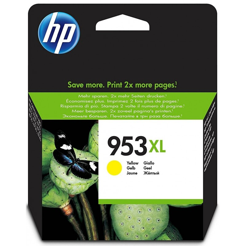 Tinta HP 953XL Amarillo F6U18AE