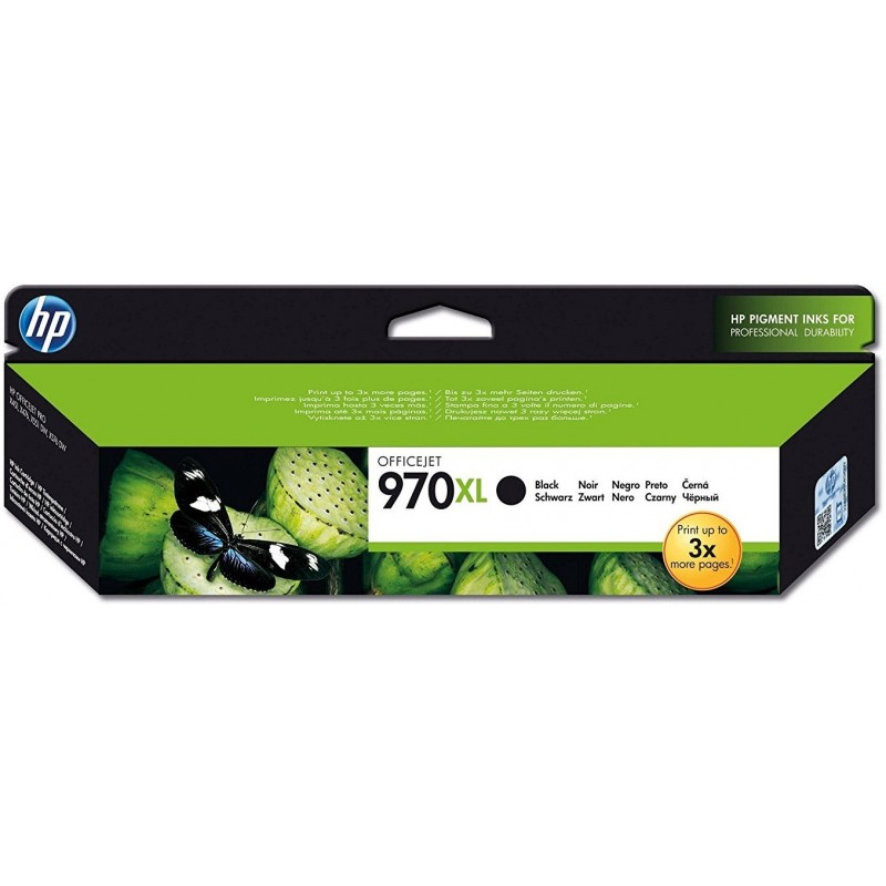 HP 970XL Black Ink CN625AE