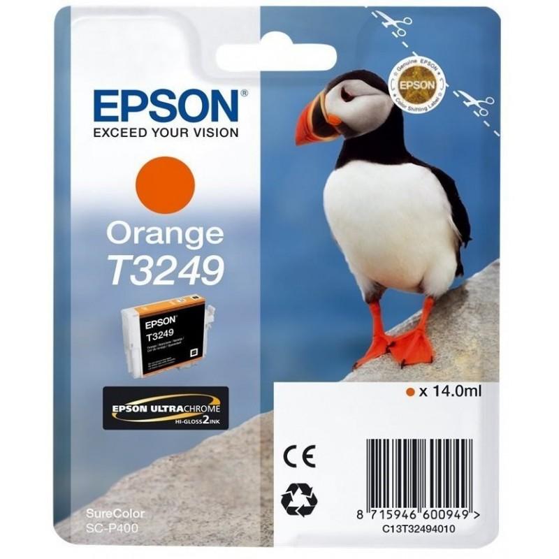 Tinta Epson T3249 Naranja