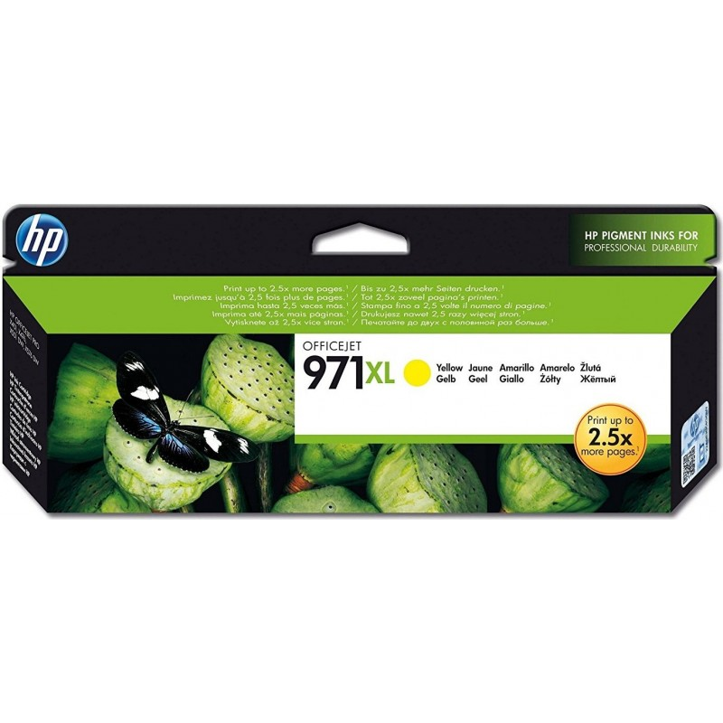 HP 971XL Yellow Ink CN628AE