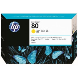 C4848A HP 80 Yellow Ink