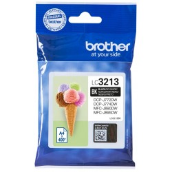 BROTHER CARTUCHO DE TINTA LC3213BK NEGRO Nº 3213