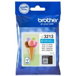 Tinta Brother LC3213C Cian