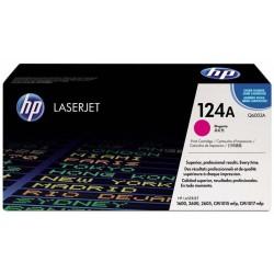 Tóner HP 124A Magenta Q6003A
