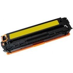 Tóner Compatible HP 125A Amarillo CB542A
