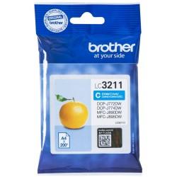 Tinta Brother LC3211C Cian