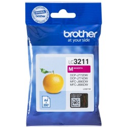 Tinta Brother LC3211M Magenta