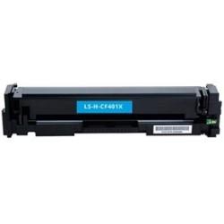 Tóner Compatible HP 201X Cian CF401X