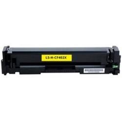 Tóner Compatible HP 201X Amarillo CF402X