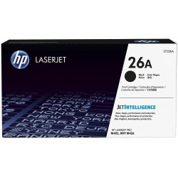 HP 26A Black Toner CF226A