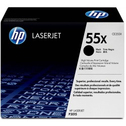 CE255X HP 55X Black Toner