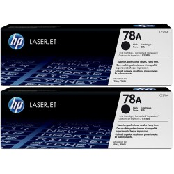 HP 78A Black Toner CE278AD Pack 2 Units