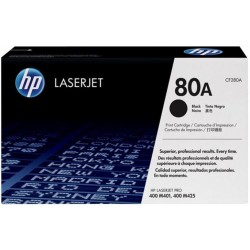 HP 80A Black Toner CF280A