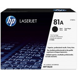 HP 81A Black Toner CF281A