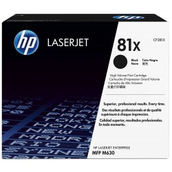 HP Toner 81X Black CF281X