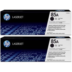 HP 85A Black Toner CE285AD Pack 2 Units