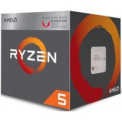 Procesador AMD Socket Am4 Ryzen5 2400G Vega 11