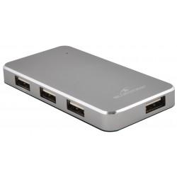 Hub USB de 4 Puertos Bluestork