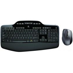 Wireless keyboard and mouse Logitech MK710