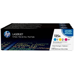 Toner HP 125A Pack 3 Colores CF373AM