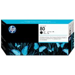 Cabezal con Limpiador HP 80 Negro C4820A