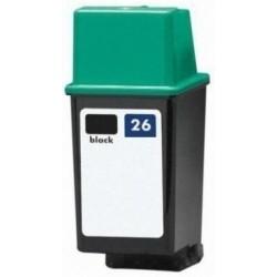 Tinta Compatible HP 26 Negro 51626AE