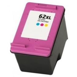 Tinta Compatible HP 62XL Color C2P07AE