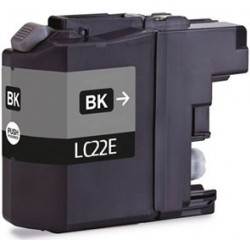Tinta Compatible Brother LC22EBK Negro