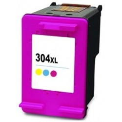 Tinta Compatible HP 304XL Color N9K07AE