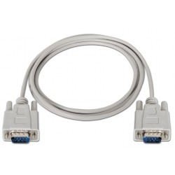 Cable Serie RS232 DB9/M-DB9/M 3m Nanocable