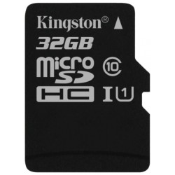 Tarjeta MicroSD 32GB Kingston Canvas Select