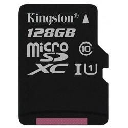 Tarjeta MicroSD 128GB Kingston Canvas Select