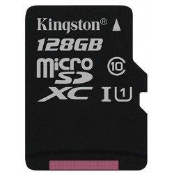 Tarjeta MicroSD 128GB Kingston Canvas Select
