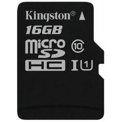 Tarjeta MicroSD 16GB Kingston Canvas Select