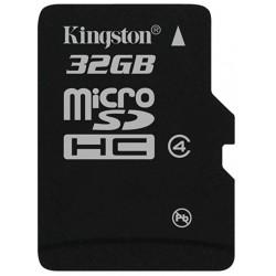 Tarjeta MicroSD 32GB Kingston SDC4-32GBSP