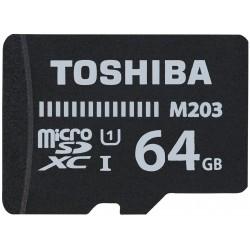 Tarjeta MicroSD 64GB Toshiba M203