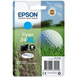 Tinta Epson 34XL Cian T3472