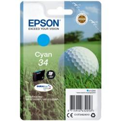 Tinta Epson 34 Cian T3462