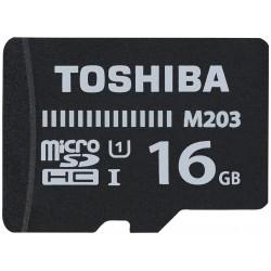 Tarjeta MicroSD 16GB Toshiba M203