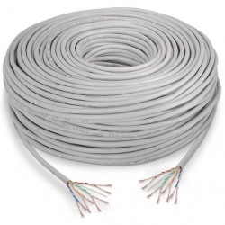Cable de Red Cat.5e UTP Flexible 305m Nanocable