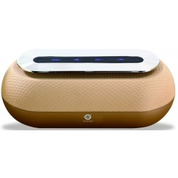 Altavoz Bluetooth Conceptronic Dunkan Dorado
